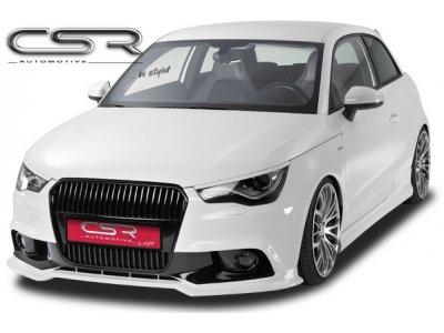 Накладка на передний бампер Var2 от CSR Automotive на Audi A1 8X