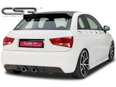 Накладка на задний бампер от CSR Automotive на Audi A1 8X Hatchback