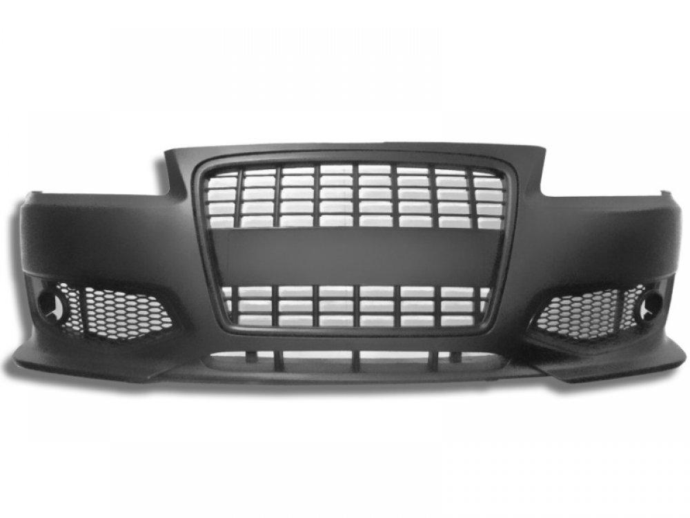 Бампер передний от Jom S3 Look Black для Audi A3 8L