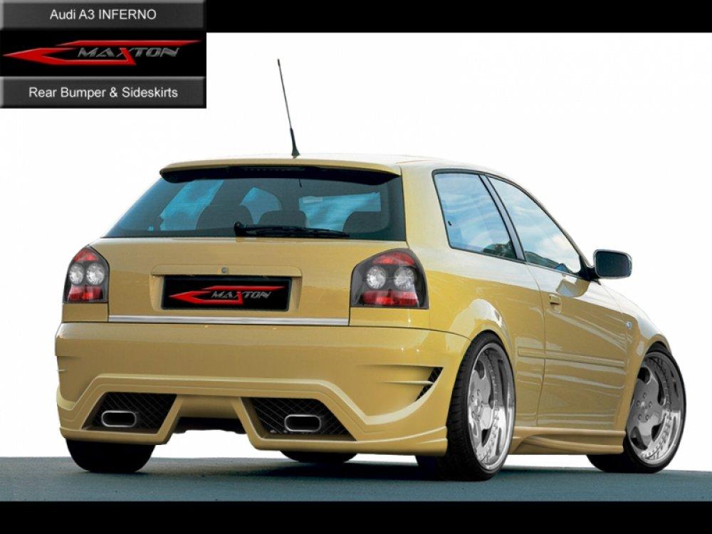 Бампер задний Inferno от Maxton Design на Audi A3 8L