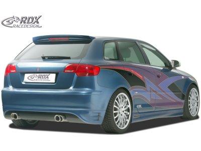 Накладка на задний бампер от RDX Racedesign на Audi A3 8P рестайл