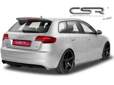 Накладка на задний бампер от CSR Automotive на Audi A3 8P рестайл