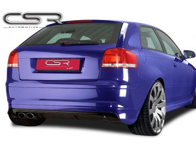Накладка на задний бампер от CSR Automotive на Audi A3 8P Hatchback 3D