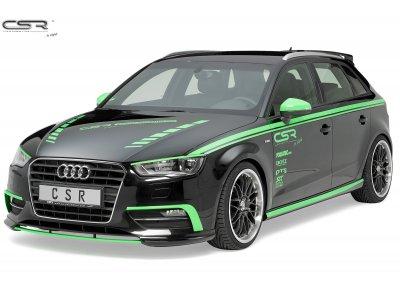 Накладка на передний бампер от CSR Automotive на Audi A3 8V