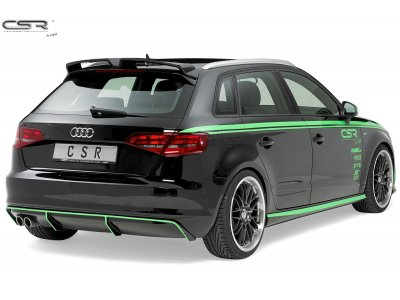 Накладка на задний бампер от CSR Automotive на Audi A3 8V Sportback