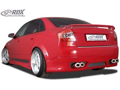 Накладка на задний бампер GT-Race от RDX на Audi A4 B6