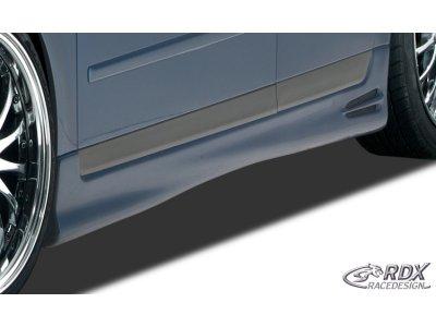 Накладки на пороги от RDX Racedesign для Audi A4 B6