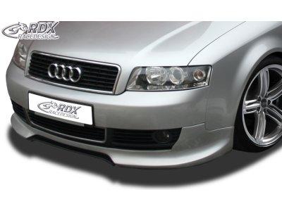 Накладка на передний бампер GT-Race от RDX на Audi A4 B6