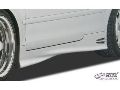 Накладки на пороги GT4 от RDX для Audi A4 B6 Cabrio