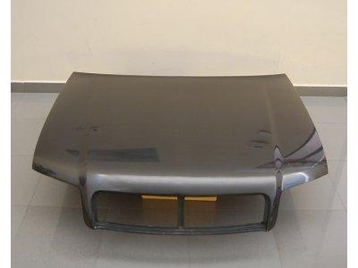 Капот карбоновый от Eurolineas на Audi A4 B6