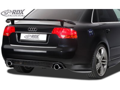 Накладка на задний бампер RS4-Look Var2 от RDX на Audi A4 B7