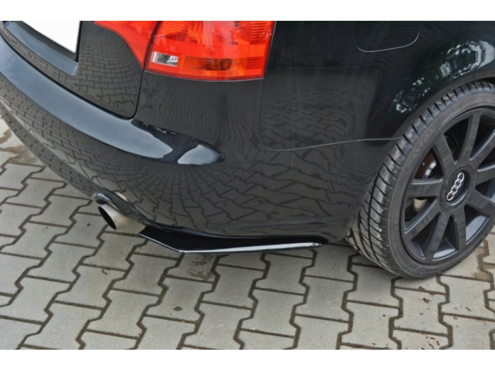 Накладка на задний бампер от Maxton Design для Audi A4 B7