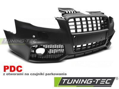 Бампер передний в стиле S-Line от Tuning-Tec на Audi A4 B7