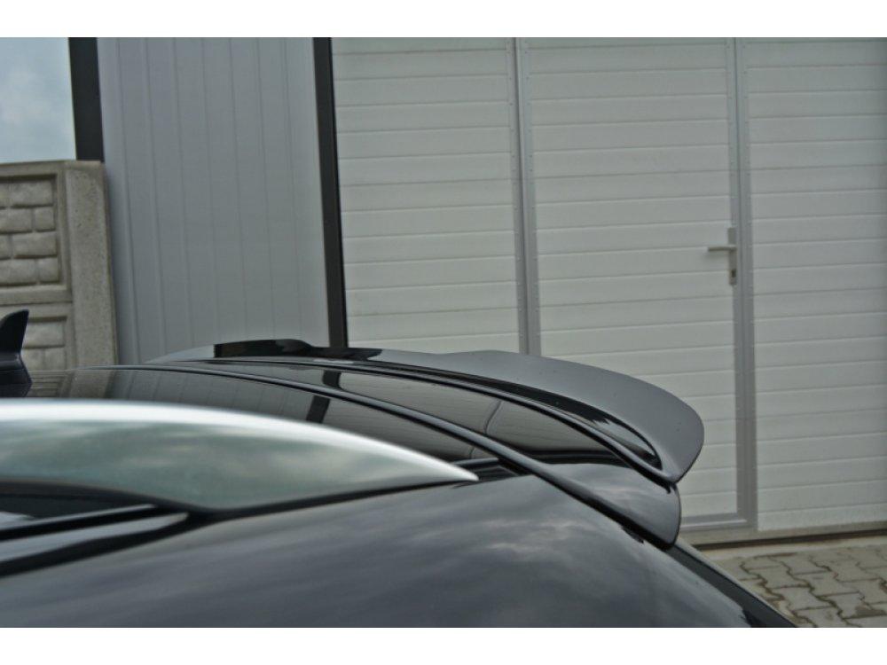 Накладка сплиттер на спойлер от Maxton Design для Audi RS4 B7