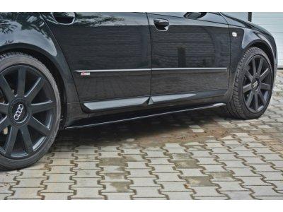 Накладки порогов от Maxton Design для Audi A4 B7