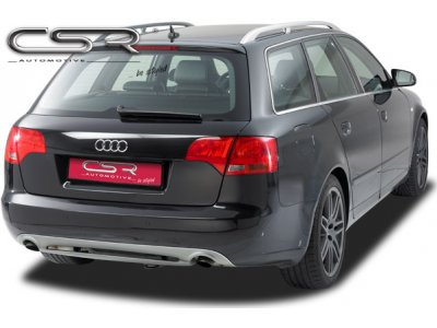 Накладка на задний бампер от CSR Automotive Var2 на Audi A4 B7 Wagon