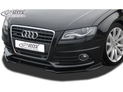Накладка на передний бампер VARIO-X от RDX на Audi A4 B8 S-Line