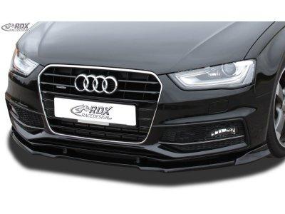 Накладка на передний бампер VARIO-X от RDX на Audi A4 B8 S-Line / S4 B8 рестайл