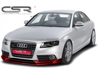 Накладка на передний бампер от CSR Automotive на Audi A4 B8