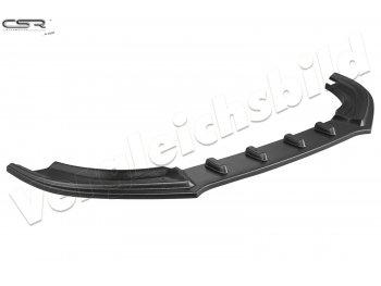 Накладка сплиттер на передний бампер от CSR для Audi A4 B8 рестайл
