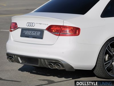 Спойлер на багажник Rieger на Audi A4 B8