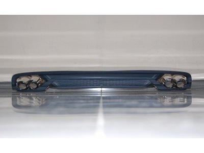 Накладка на задний бампер в стиле RS4 от Eurolineas на Audi A4 B9