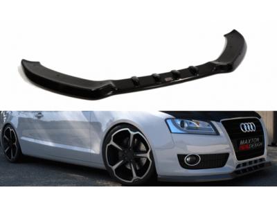 Накладка на передний бампер от Maxton Design для Audi A5 8T