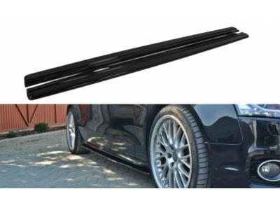 Накладки на пороги от Maxton Design для Audi A5 8T S-Line