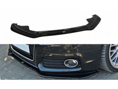 Накладка на передний бампер от Maxton Design для Audi A5 8T S-Line