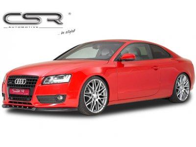 Накладка на передний бампер Var2 от CSR на Audi A5 8T