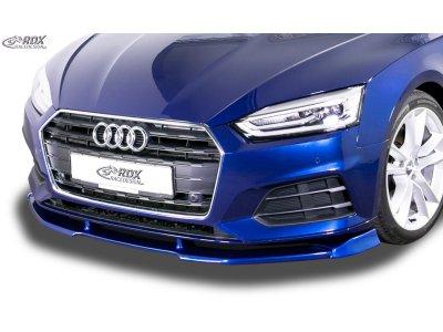 Накладка сплиттер на передний бампер VARIO-X от RDX на Audi A5 B9