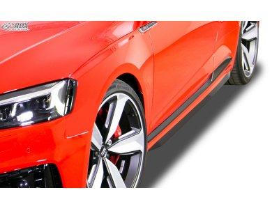Накладки на пороги от RDX Racedesign на Audi RS5 B9