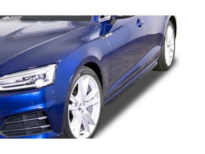 Накладки на пороги от RDX Racedesign на Audi A5 B9