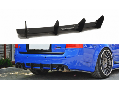 Накладка на задний бампер от Maxton Design для Audi RS6 C5 Avant