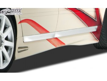 Накладки на пороги GT4 от RDX Racedesign на Audi A6 C5