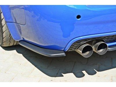Боковые элероны на задний бампер от Maxton Design для Audi RS6 C5 Avant