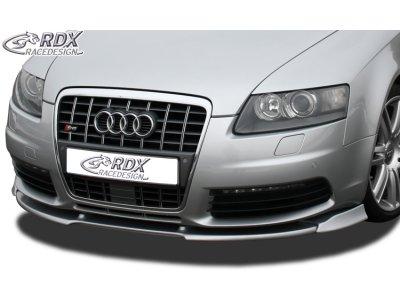 Накладка на передний бампер VARIO-X от RDX на Audi S6 C6