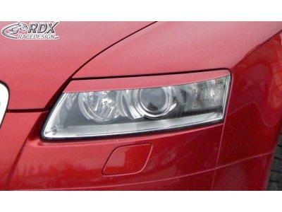 Реснички на фары от RDX Racedesign на Audi A6 C6