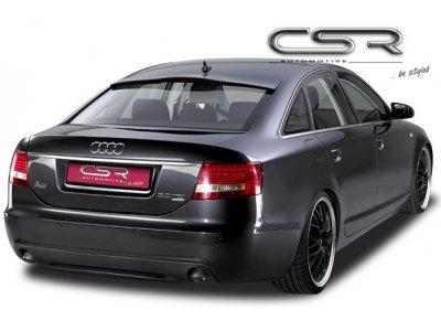 Накладка на задний бампер от CSR Automotive на Audi A6 C6