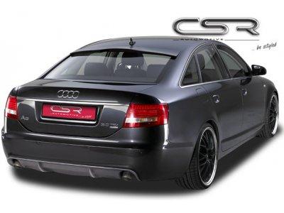 Накладка на задний бампер от CSR Automotive Var2 на Audi A6 C6