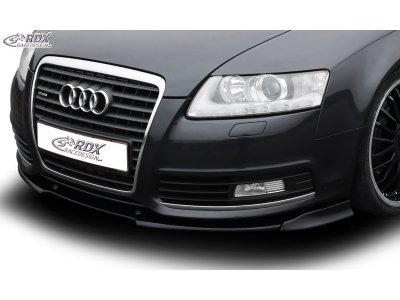Накладка на передний бампер VARIO-X от RDX на Audi A6 C6 рестайл