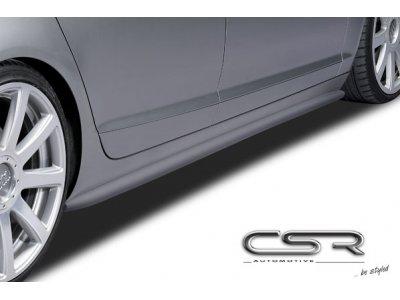 Накладки на пороги от CSR Automotive для Audi A6 C6 Wagon