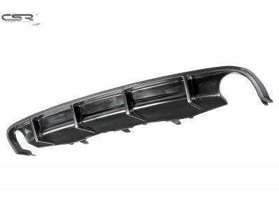 Накладка диффузор на задний бампер от CSR Automotive на Audi RS6 C6