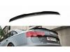 Спойлер на крышку багажника от Maxton Design для Audi A6 C7 S-Line