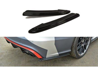 Боковые элероны на задний бампер от Maxton Design для Audi RS6 C7