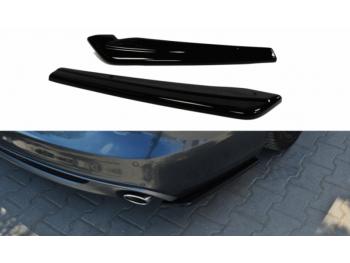 Боковые элероны на задний бампер от Maxton Design для Audi A6 C7 Avant S-Line