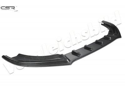 Накладка сплиттер на передний бампер Carbon Look от CSR Automotive для Audi RS6 C7