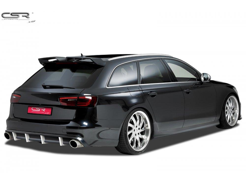 Накладка на задний бампер от CSR Automotive для Audi A6 C7 S-Line