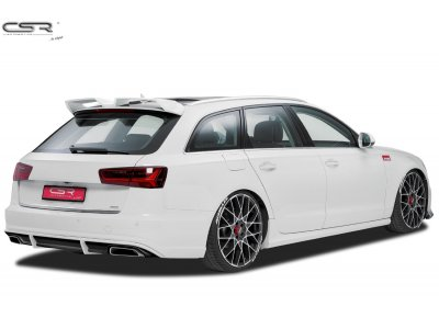 Накладка на задний бампер от CSR Automotive для Audi A6 C7 Limousine / Avant
