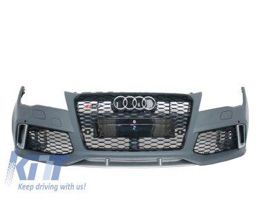 Бампер передний в стиле RS7 от KITT на Audi A7 4G
